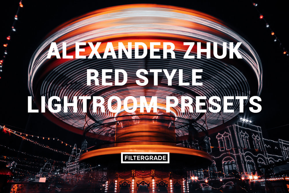 RED STYLE   10 Lightroom Presets  Red Tones  Deep Colors  Harsh Shadows  City/Street/Urban  Free Help Files and Support      $21