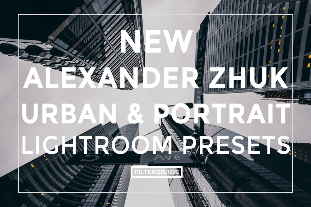 URBAN & PORTRAIT    25 Urban Lightroom Presets  Darkened Shadows  Matte Shadows  Electric Blues  City/Street/Urban  Free Help Files and Support      $36