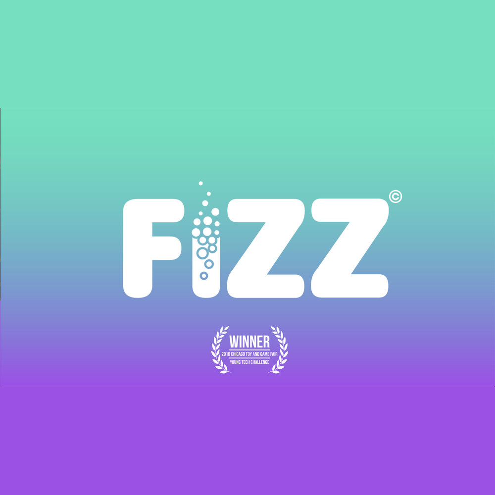 """opening scene, """"FIZZ"""" - As both lead 2D artist and contributing 3D artist for FIZZ, I handled the design of its characters and the graphics in its introductory video. This clip plays when you begin the game, made in Photoshop and Premiere Pro."""