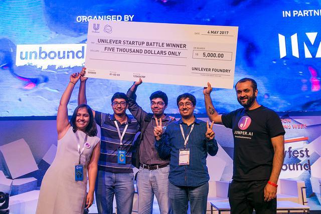UNBOUND LIVE - The Unilever Foundry Start-Up Battle
