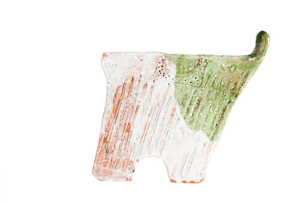 "BONBON CHOUVAL ""TRICO""   Glazed architectural terra-cotta"