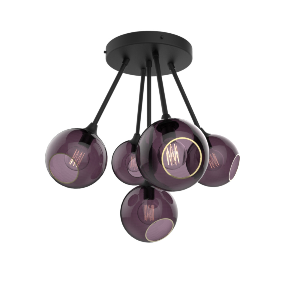 Ballroom Molecule Black with Purple Rain Glass.jpg