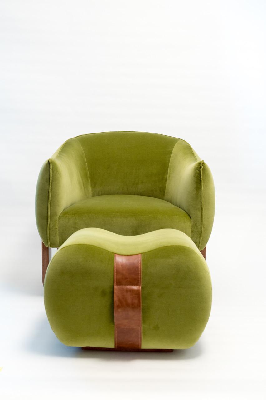 Milo Chair/Ottoman