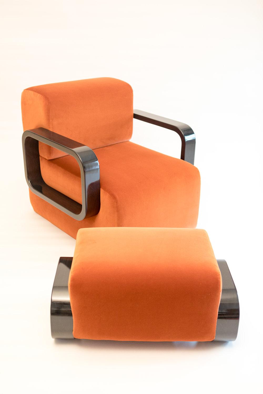 Cayenne Chair/Ottoman