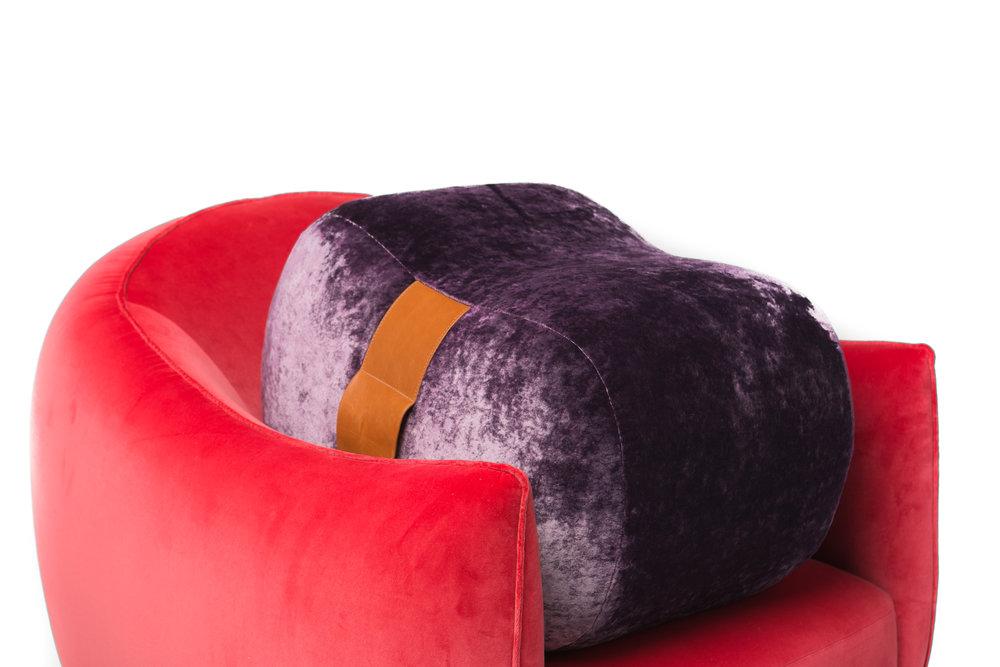 Marie-Burgos-Design. Milo-chair.Milo-ottoman.red-purple.MBcollection.jpg