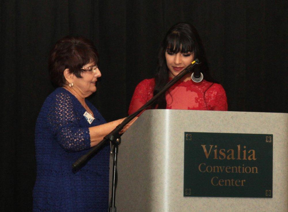 Mary Line Sharing Hope Award: Celene Aragon