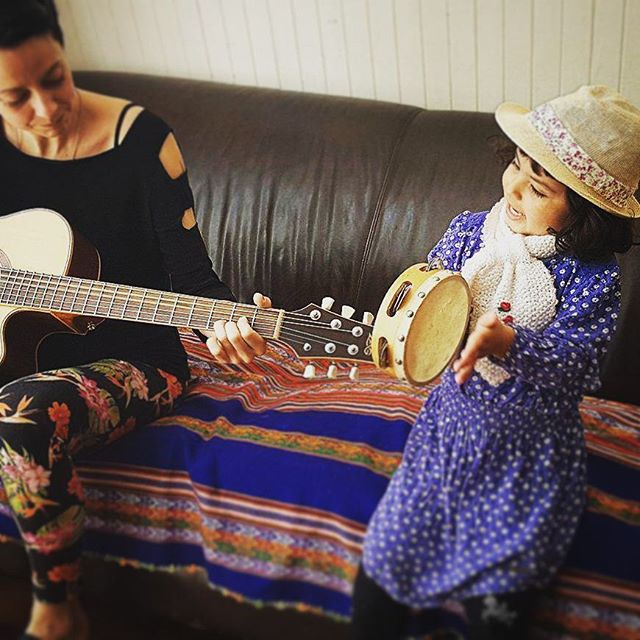 Newest member of the band... #musicians #cute#band #composing #singing#girl #gorgeous #talent #little #jam #loveu