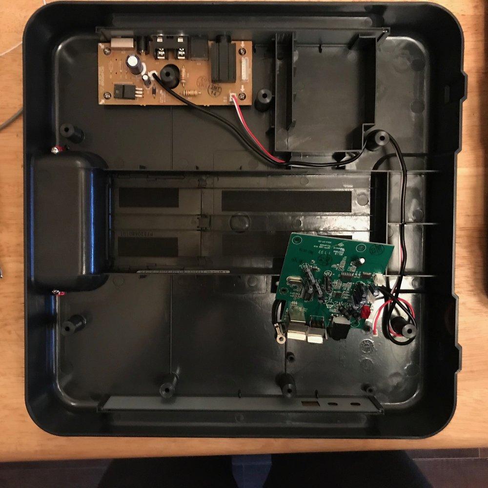 USB transfer board.