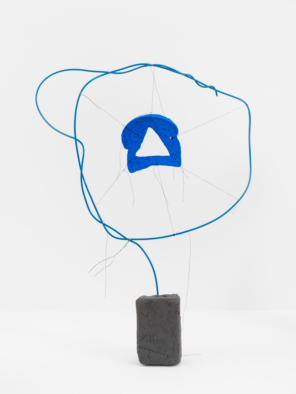 Michelle Segre,  Driftloaf (Blue Triangle) , 2015