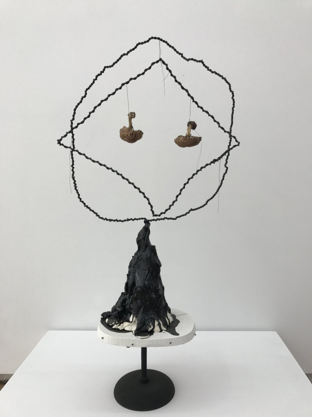 Michelle Segre,Untitled (Dual Mushrooms), 2016