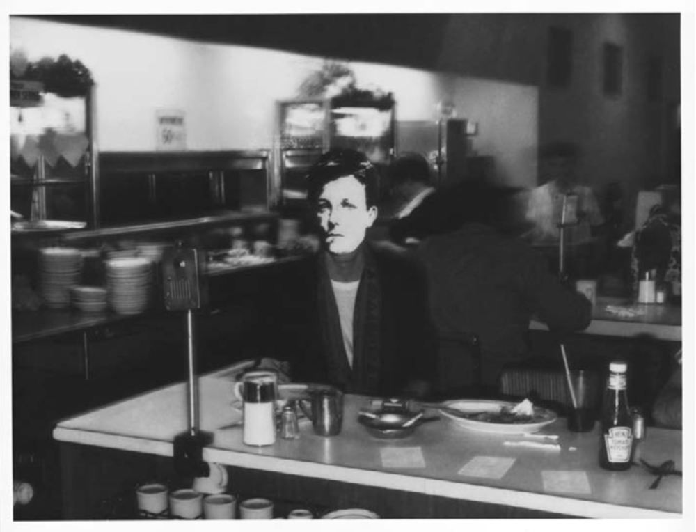 David Wojnarovicz,  Arthur Rimbaud in New York (diner) , 1978-79/2004