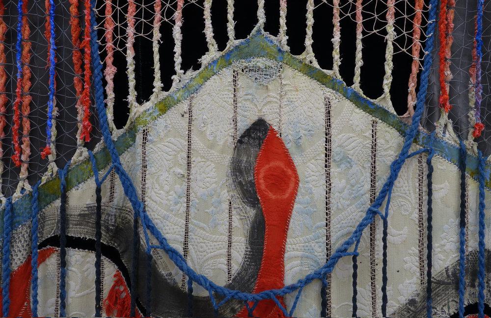 Julia Bland, Nest , 2017, detail