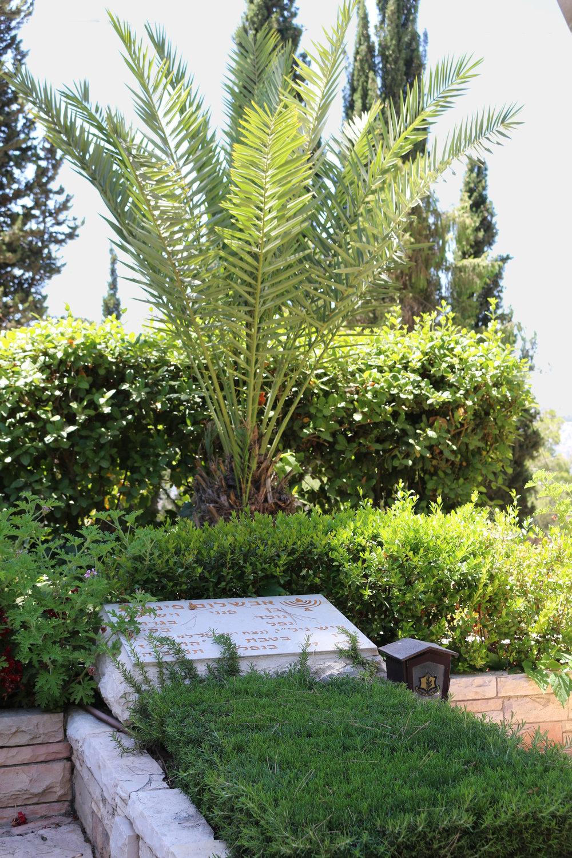 Grave of Avshalom Feingberg, Mount Herzl Military Cemetery