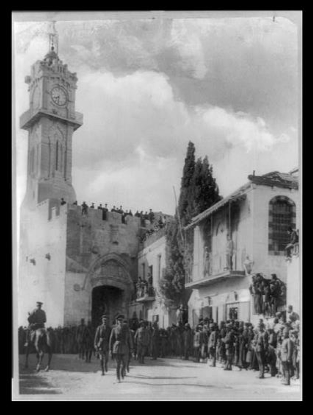 Palestine - Jerusalem. General Allenby's entrance into Jerusalem -the-woman-who-fought-an-empire-gregory-wallance.png