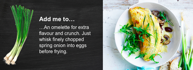 Spring Onion Omelette   View Recipe here:  https://shop.coles.com.au/a/a-national/promo/spring-onion-omelette?pid=pr_Tile_PromoPage_Spring-Refresh_20181004_Spring-Onion