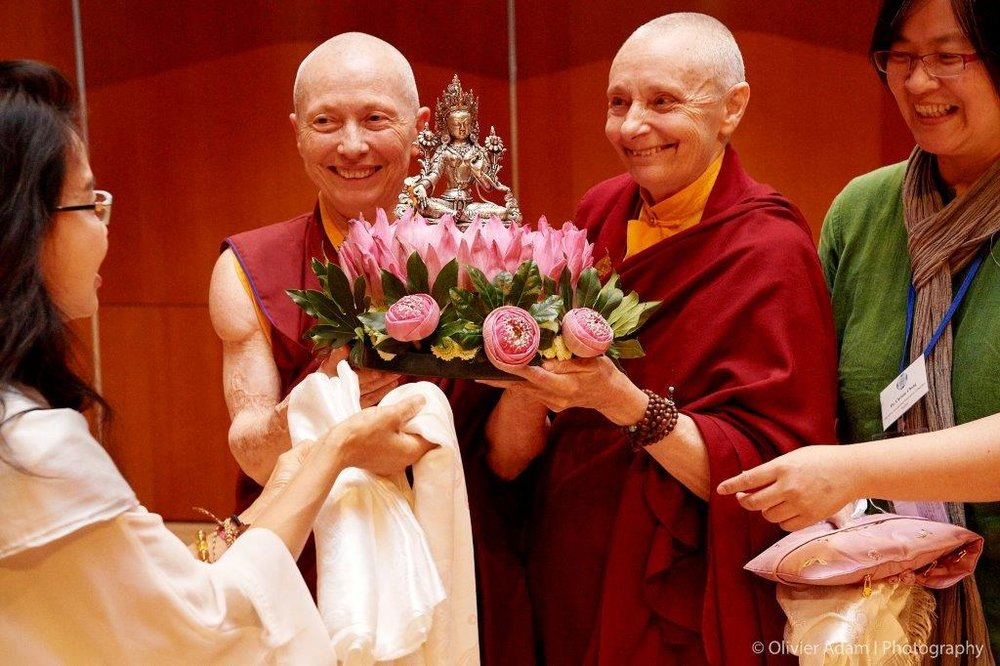 Thank you gift - Ven Karma Lekshe & Jetsuma Tenzin Palmo.jpg