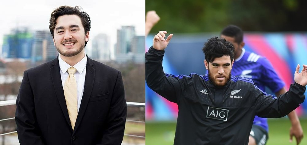 Is Apollo Liu actually famed rugby player Nehe Milner-Skudder? And if he is, will he be able to balance a professional rugby career with an SGA vice presidency?