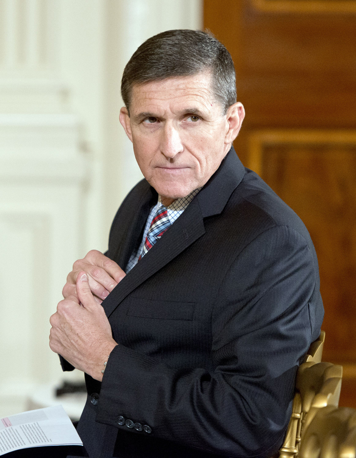 National Security Advisor Michael Flynn