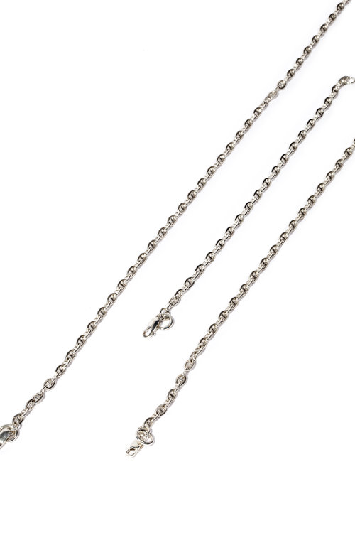 grams white gold mariner ebay s anchor p mm necklace solid chain