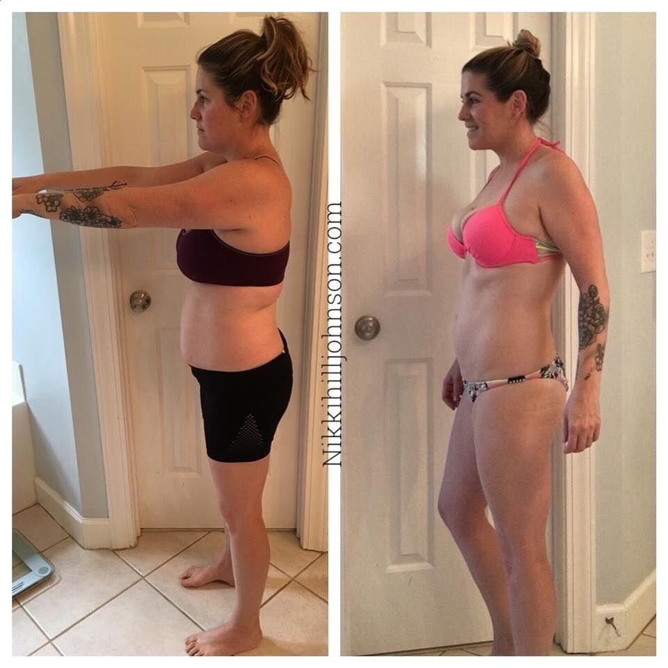 Meet Nikki- Her starting weight was 150. Today she is 133. She Didn't workout for the first 2 months.  Nikki said: 2B Mindset has given me true food freedom. Before starting the program I was in a restrictive/binge cycle I couldn't get out of. I had all the tools, I knew how to lose weight as I had previously lost 50 lbs but I only knew how to do it by restricting...and because my mindset was in a negative place the restriction led to binging. Since starting the 2B Mindset I haven't once felt deprived!! I love my life, I travel, I go out to eat, I NEVER feel guilty about treating myself or missing a workout. I am eating intuitively and fueling my body with what it wants rather than eating to fill a void. I am never going back to my old life! 2B for life!