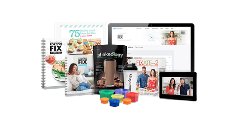 Ultimate Portion Fix + Shakeology Challenge Pack