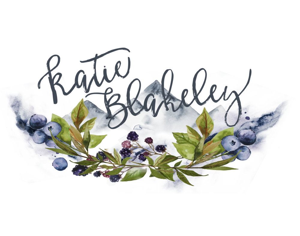 Custom Watercolor Logo Design