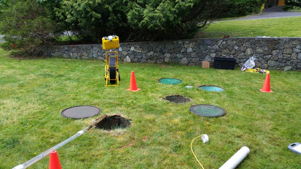 Saving money with septic system maintenance.