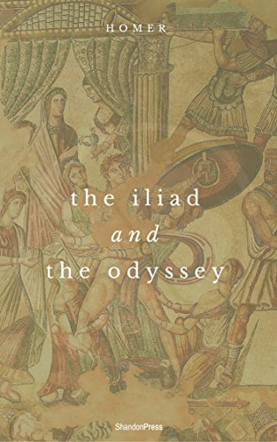 The Iliad and the Odyssey book cover