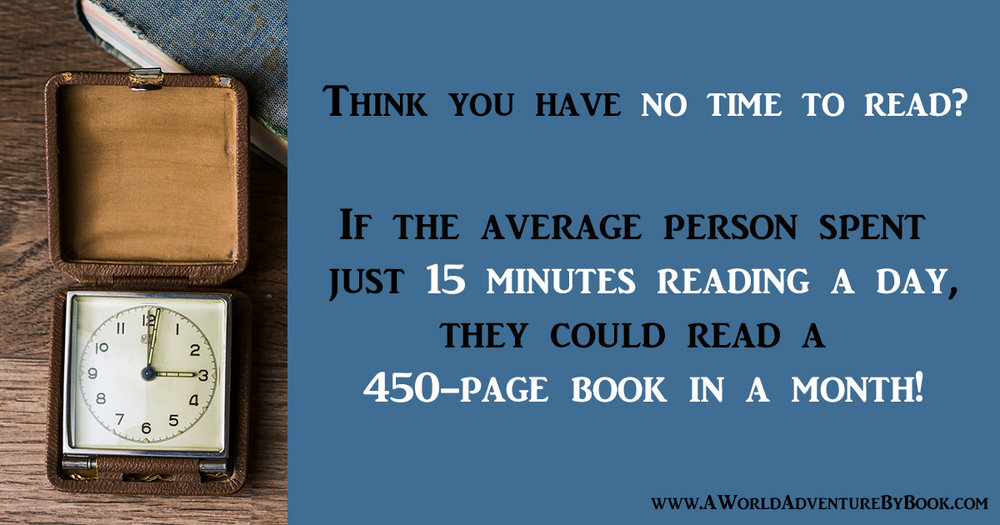 Think you have no time to read?