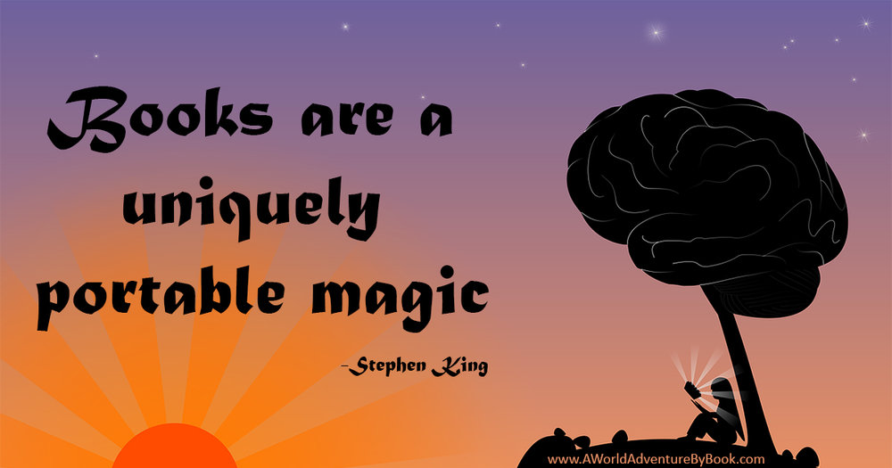 Books are a uniquely portable magic