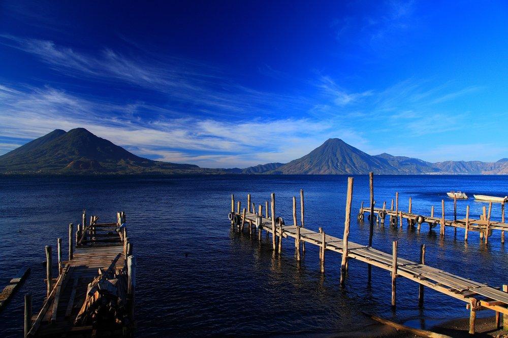 Vista of volcanos