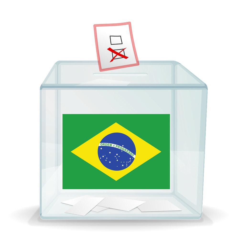 Brazil ballot box