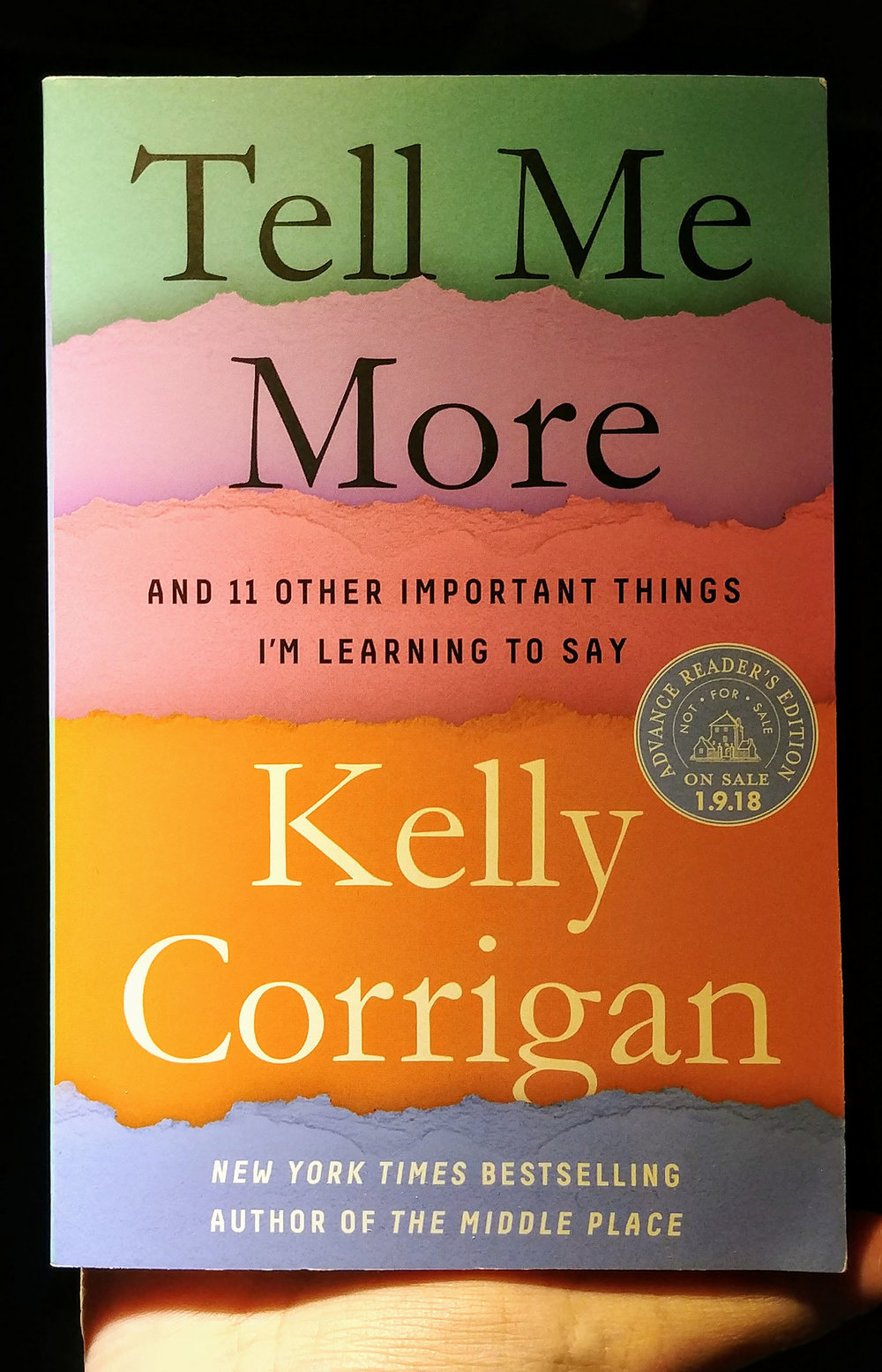 """Tell Me More"" book"