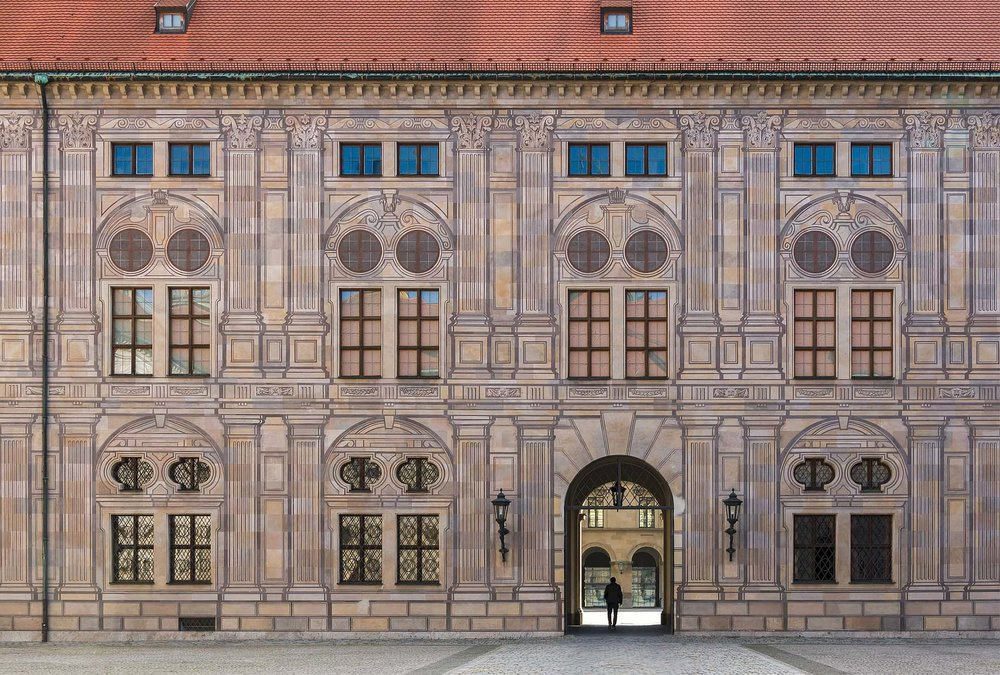 The Residenz in Munich is the former royal palace of the Wittelsbach monarchs of Bavaria