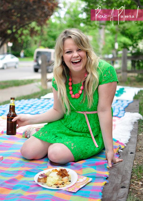 birthday, party, picnic, decor, diy, root beer floats, pinata, party favors, girly, flag garland