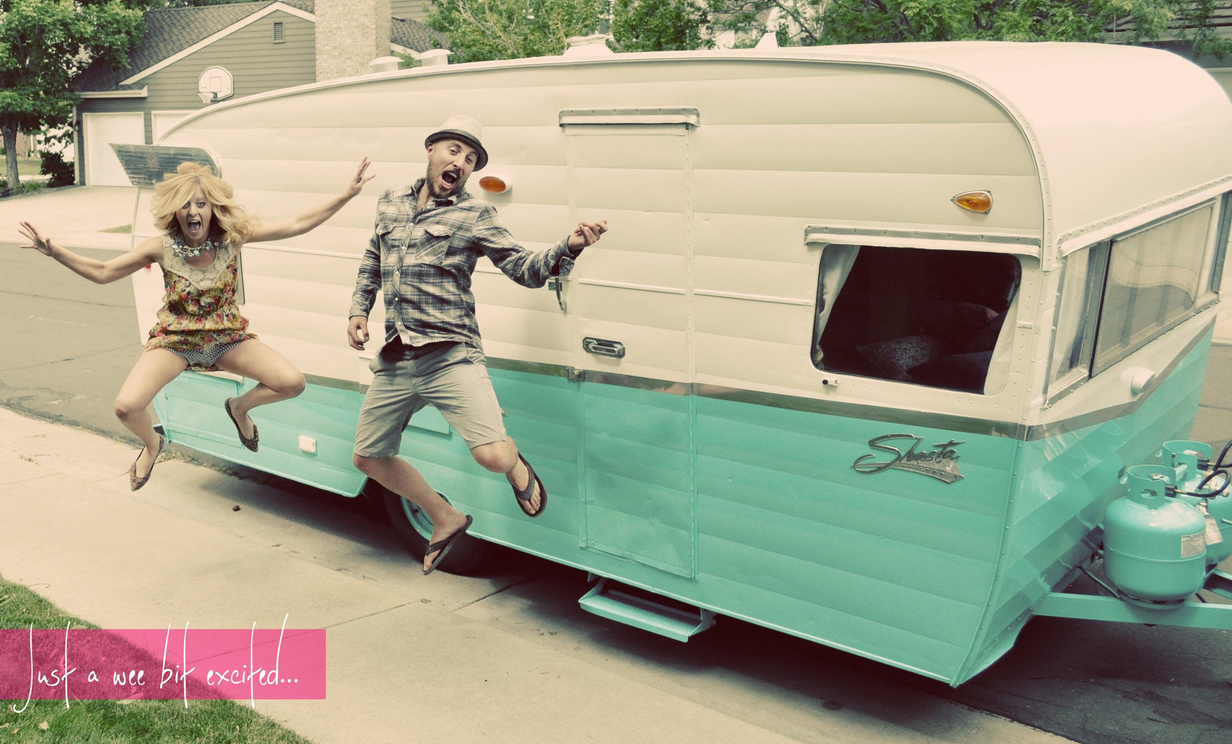 1960, shasta, vintage, trailer, road trip