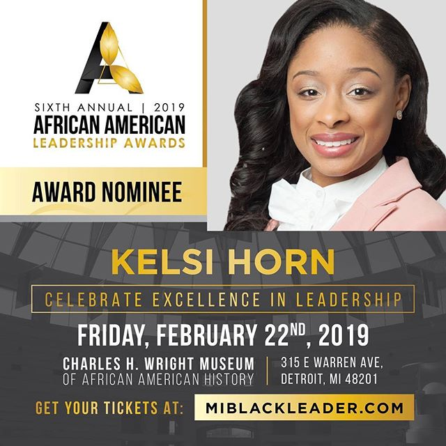 Thank you African American Leadership Awards for nominating Kelsi Horn, Miss Black USA for this prestigious honor and award and celebrating #BlackExcellence and #Leadership in the African American community. .  #missblackusa #femaleleader #solopreneur #forbesunder30 #pageantnews #crown #millenialleader #whoswho #blackpageantqueens #morethanaprettyface #blackgirlsrock #aaleadershipawards