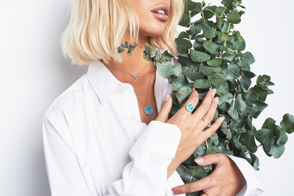 Jamie Fraiche in Noush Jewelry by Brittney Garcia