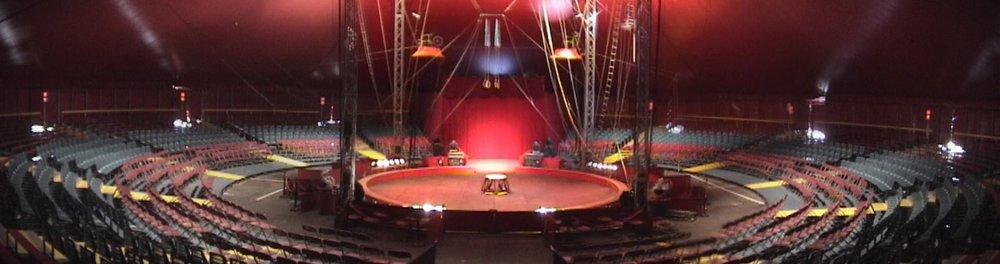 Canobbio - Inside Main Tent.JPG