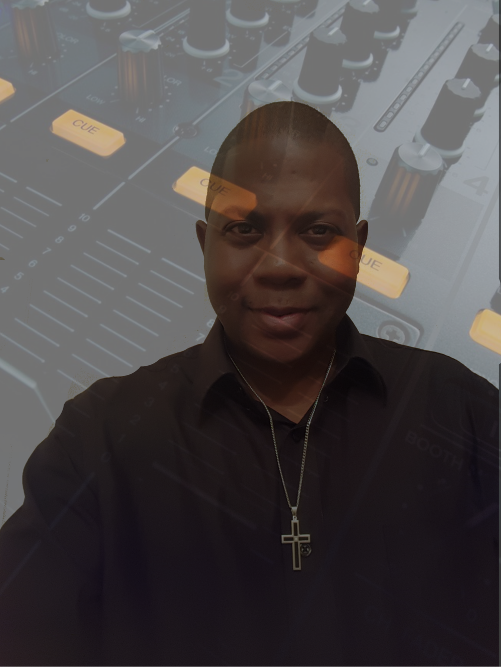 Dj King Jones  changed background without .png