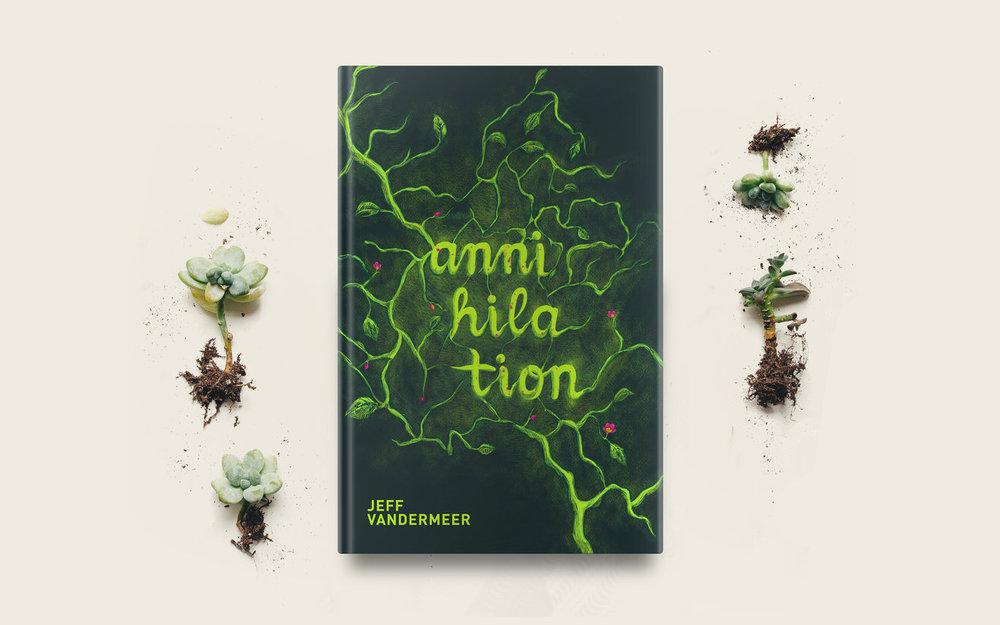 Annihilation Book Cover (Personal Project)
