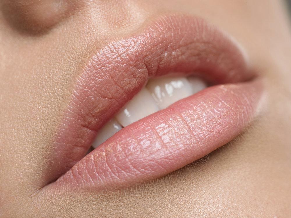 Lippenkonturen mit leichter Einschattierung € 480,00