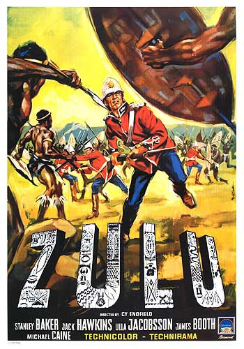 "Zulu  ""Because we're here lad. Nobody else. Just us"""