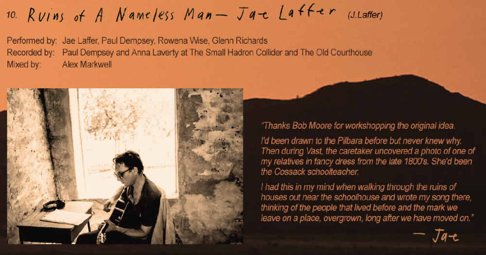 Jae Laffer's 'Ruins of a Nameless Man' - The 4th incredible tune from the album Vast has been released