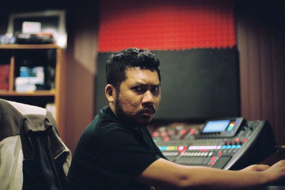 Sound engineer, co-manager, disciplinarian, senior life advisor, producer, very garang bossman.