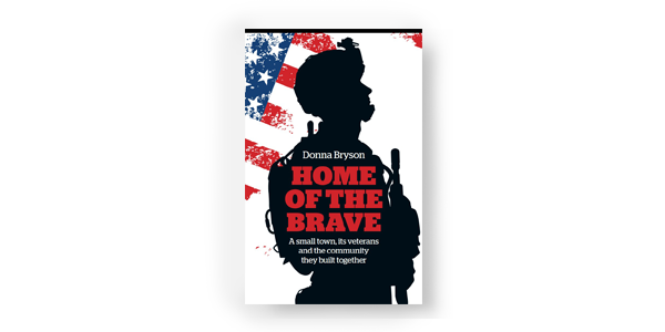 book cover home of the brave donna bryson