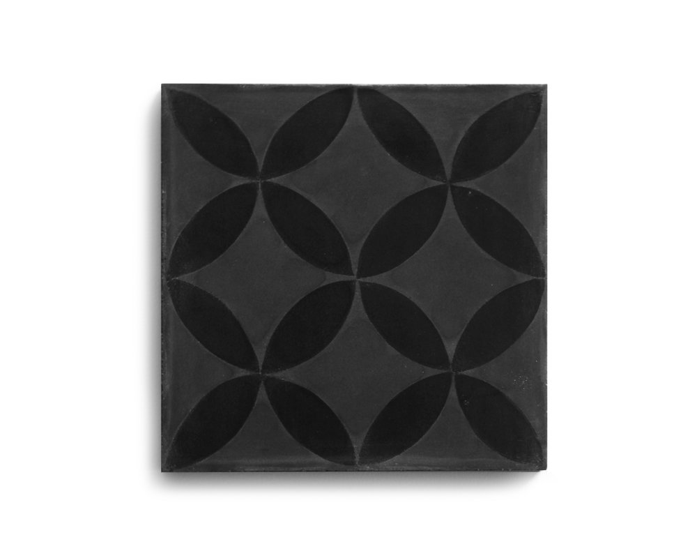 PATTERN SQUARE; NOUR (IN STOCK) Storm/Black | R75/tile or R1320/box
