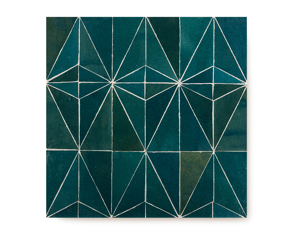 CREATIVE TRC 7 | PETROL BLUE 30x30cm | R540/tile    (AVAILABLE TO ORDER)