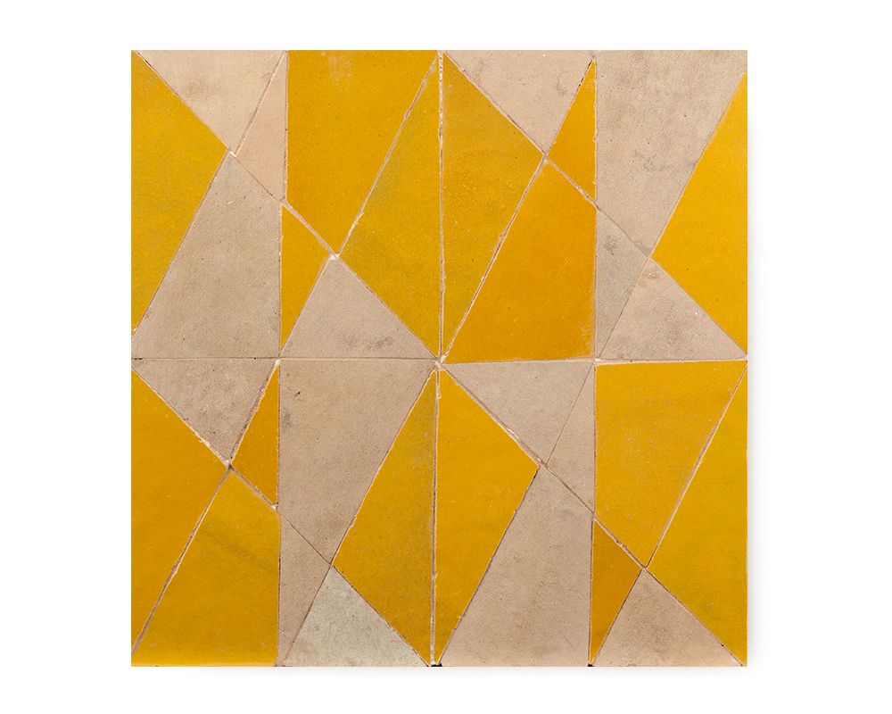 TRC3 | YELLOW & NATURAL 30x30cm | R550/tile     (AVAILABLE TO ORDER)