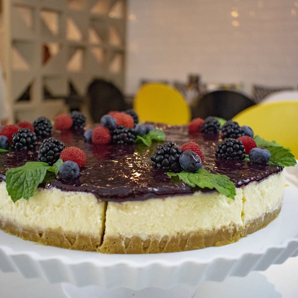 a melhor cheesecake de brasília
